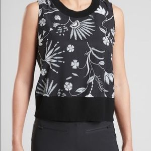 Athleta Zephyr Printed Shell